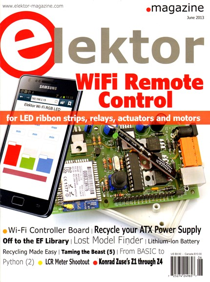 Elektor - North American Edition Cover - 6/1/2013