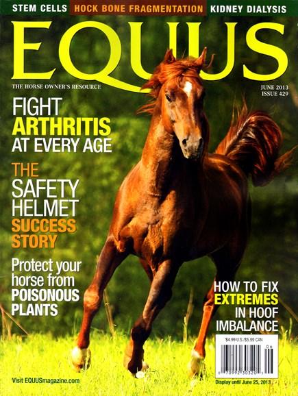 Equus Cover - 6/1/2013