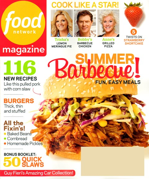 Food Network Cover - 6/1/2013