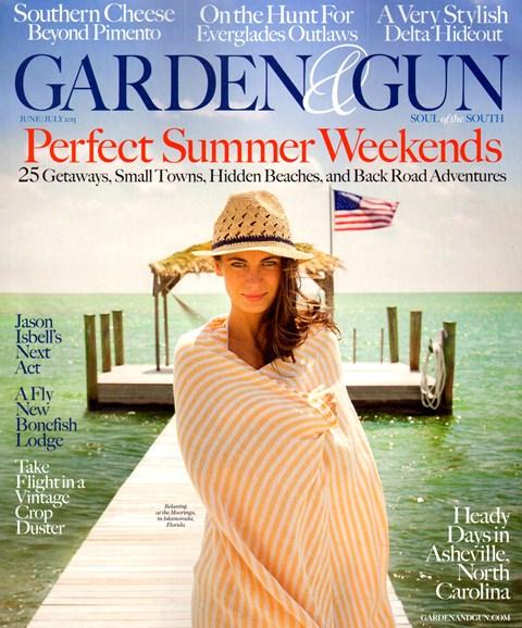 Garden & Gun Cover - 6/1/2013
