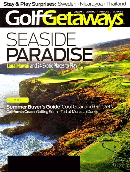 Golf Getaways Cover - 6/1/2013
