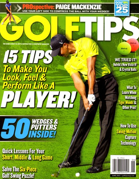 Golf Tips Cover - 6/1/2013