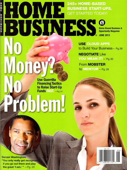 Home Business Magazine Cover - 6/1/2013