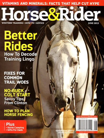 Horse & Rider Cover - 6/1/2013