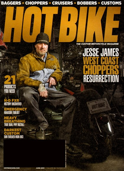 Hot Bike Cover - 6/1/2013