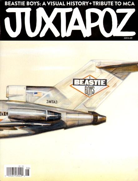 Juxtapoz Cover - 6/1/2013