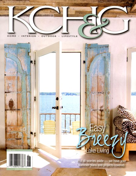 Kansas City Homes & Gardens Cover - 6/1/2013