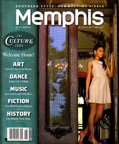 Memphis Cover - 6/1/2013