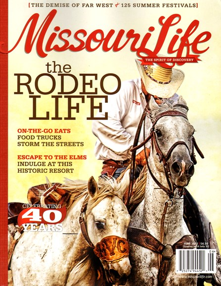Missouri Life Cover - 6/1/2013