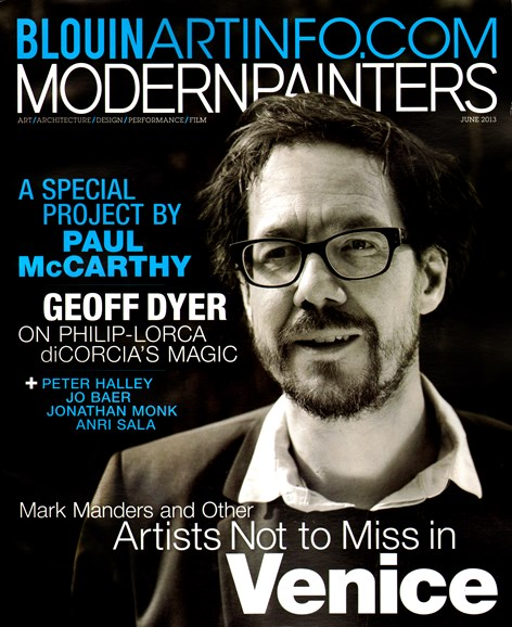 Blouin Modern Painters Cover - 6/1/2013