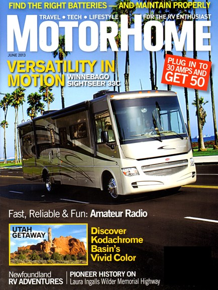 MotorHome Cover - 6/1/2013