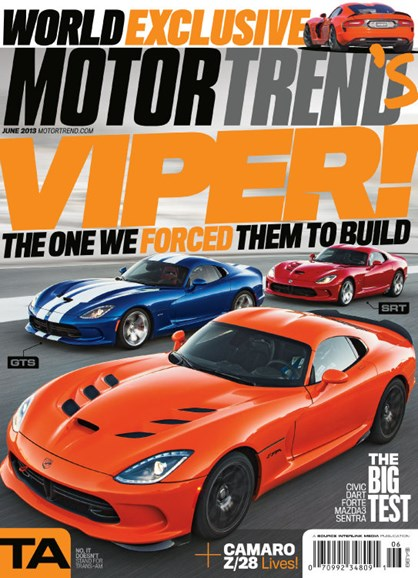 Motor Trend Cover - 6/1/2013