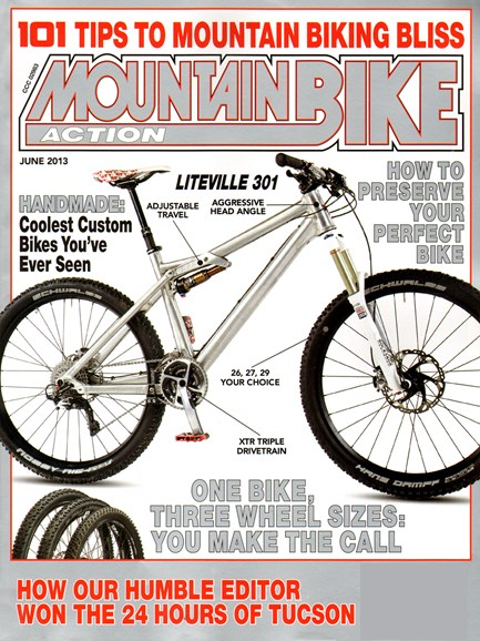 Mountain Bike Action Cover - 6/1/2013