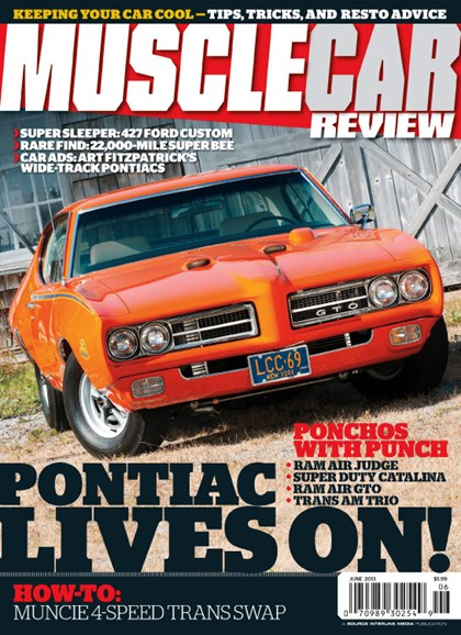 Muscle Car Review Cover - 6/1/2013