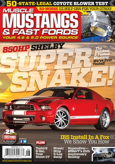 Muscle Mustangs & Fast Fords Cover - 6/1/2013