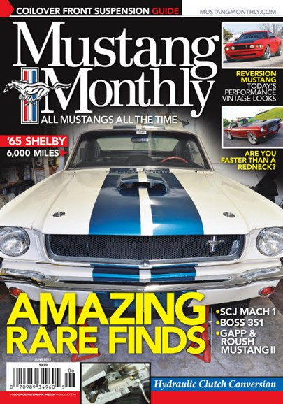 Mustang Monthly Cover - 6/1/2013