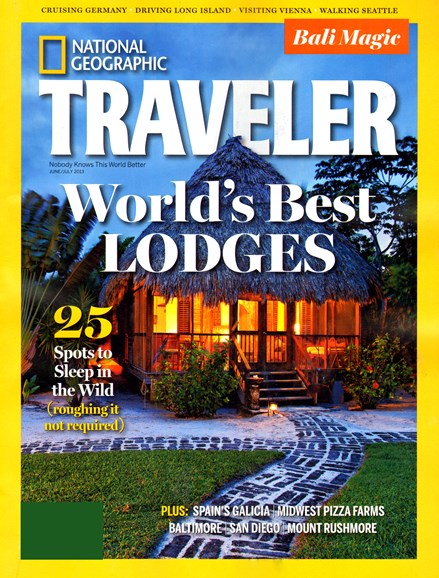 National Geographic Traveler Cover - 6/1/2013
