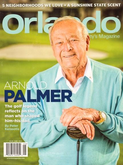 Orlando Magazine Cover - 6/1/2013