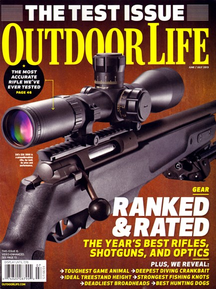 Outdoor Life Cover - 6/1/2013