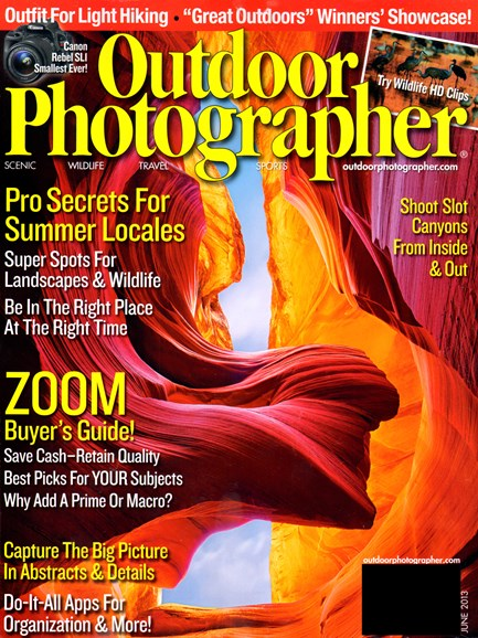Outdoor Photographer Cover - 6/1/2013
