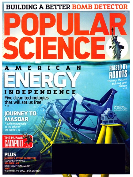 Popular Science Cover - 6/1/2013