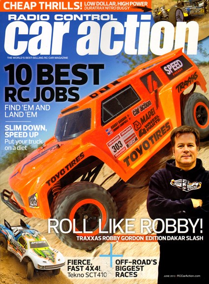 Radio Control Car Action Cover - 6/1/2013