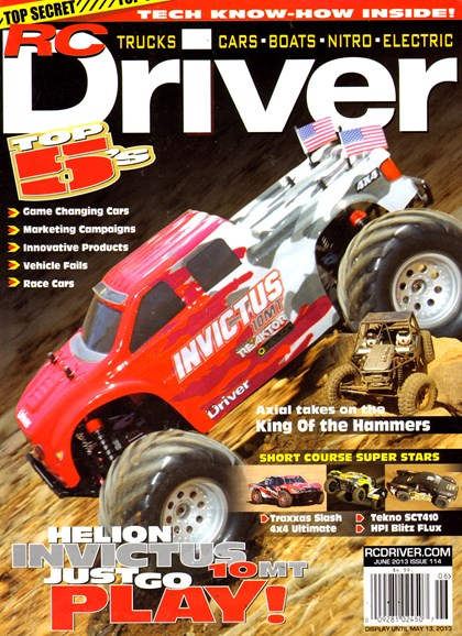 RC Driver Cover - 6/1/2013
