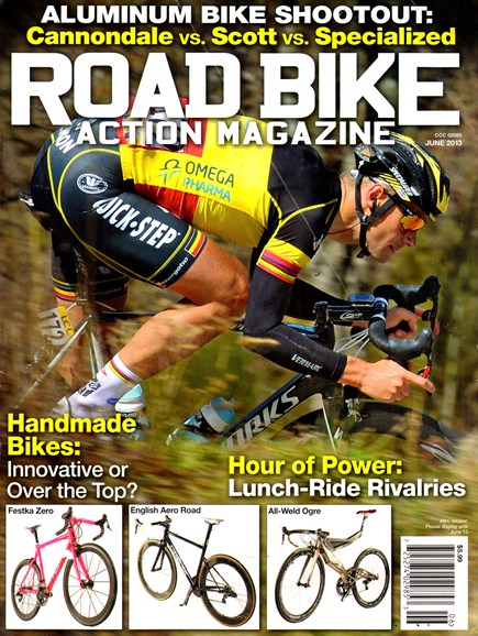 Road Bike Action Cover - 6/1/2013