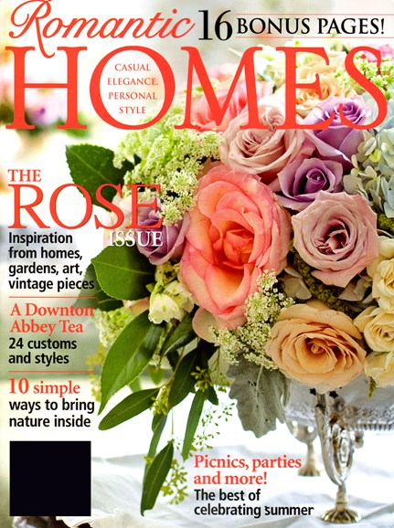 Romantic Homes Cover - 6/1/2013