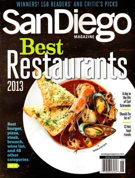 San Diego Cover - 6/1/2013