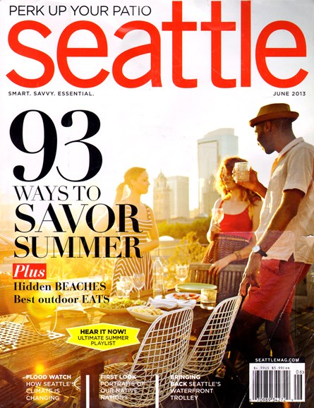 Seattle Magazine Cover - 6/1/2013