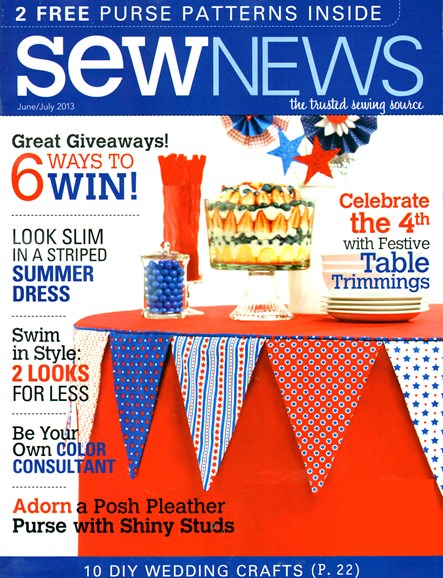 Sew News Cover - 6/1/2013