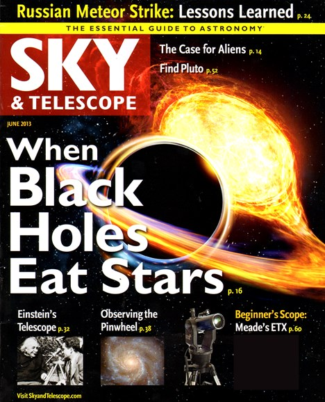 Sky & Telescope Cover - 6/1/2013