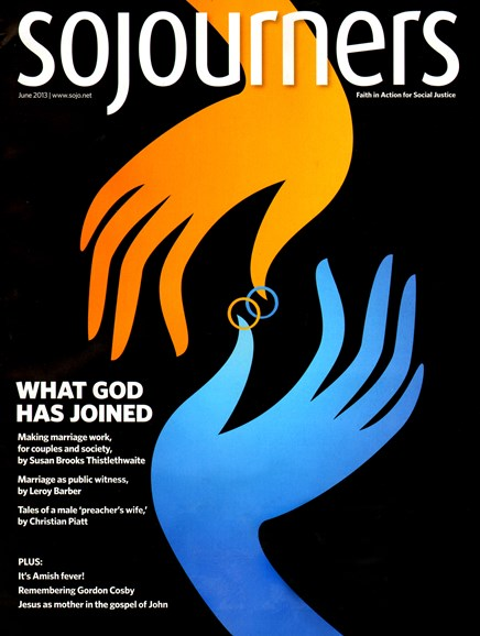 Sojourners Cover - 6/1/2013