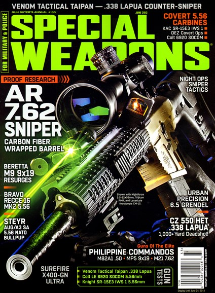 Special Weapons for Military & Police Cover - 6/1/2013