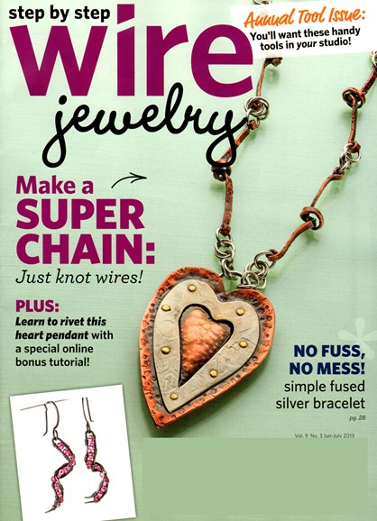 Step By Step Wire Jewelry Cover - 6/1/2013