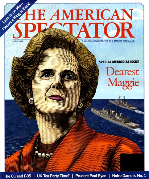 The American Spectator Cover - 6/1/2013