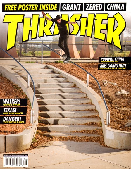 Thrasher Cover - 6/1/2013