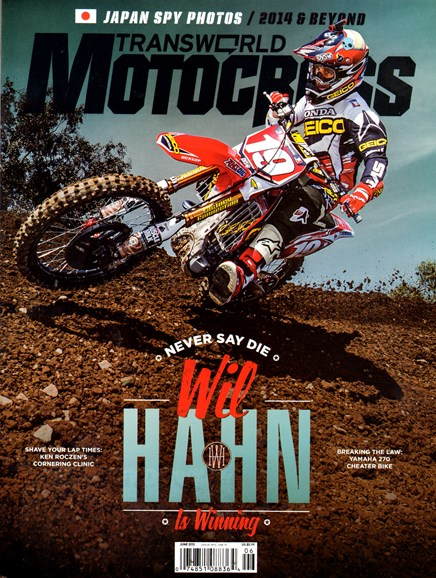 Transworld Motocross Cover - 6/1/2013