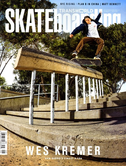 Transworld SKATEboarding Cover - 6/1/2013