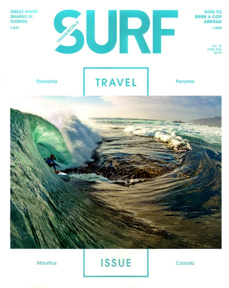 Transworld SURF Cover - 6/1/2013
