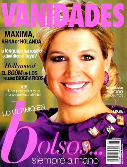 Vanidades Cover - 6/1/2013