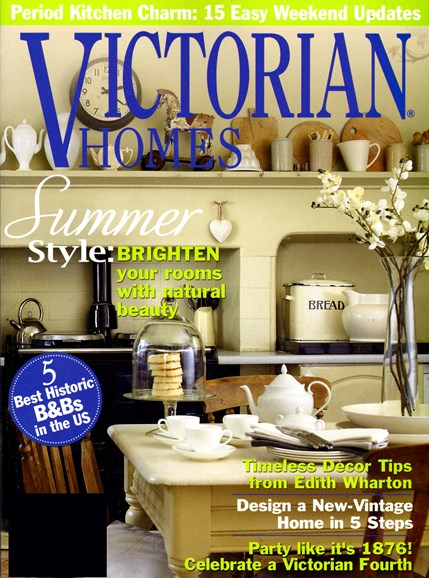 Victorian Homes Cover - 6/1/2013