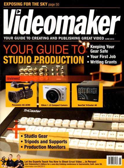 Videomaker Cover - 6/1/2013