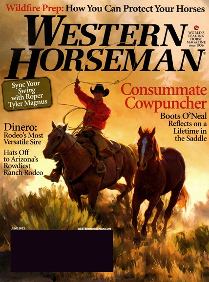 Western Horseman Cover - 6/1/2013