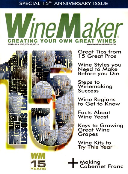 Winemaker Cover - 6/1/2013