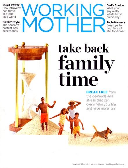 Working Mother Cover - 6/1/2013