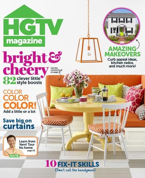 HGTV Cover - 5/1/2013