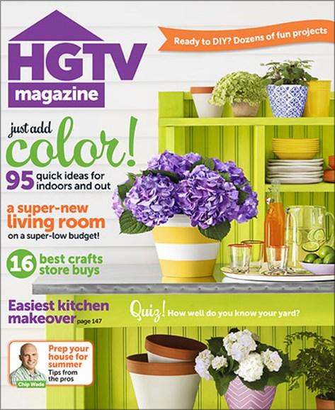 HGTV Cover - 6/1/2013