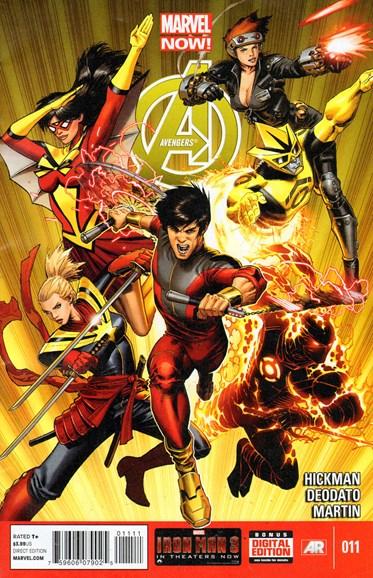 Avengers Cover - 7/1/2013